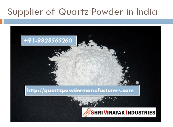 Supplier of Quartz Powder in India-